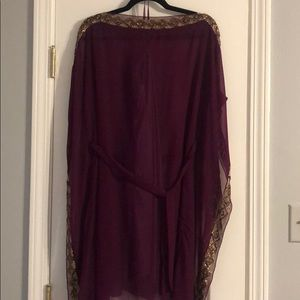 grecian tunic dress aidan mattox Size two
